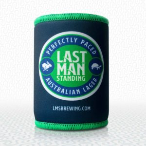 LMS Stubby Cooler - First For Thirst Last Man Standing