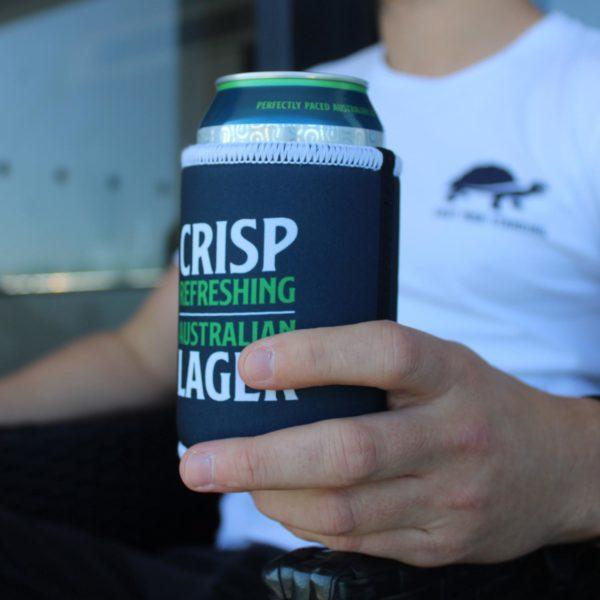 LMS Stubby Cooler - Crisp Refreshing Australian Lager Last Man Standing